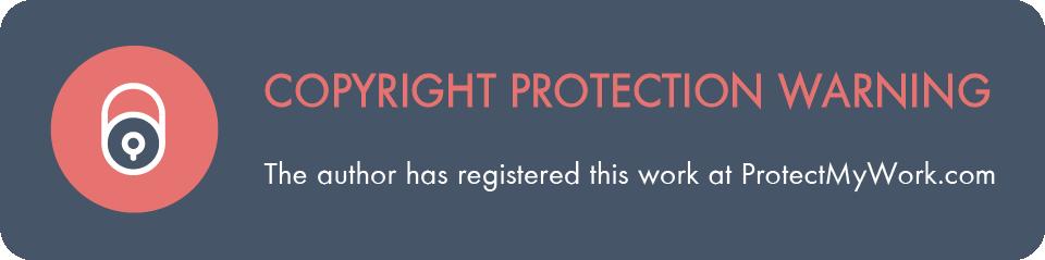 copyright protection warning